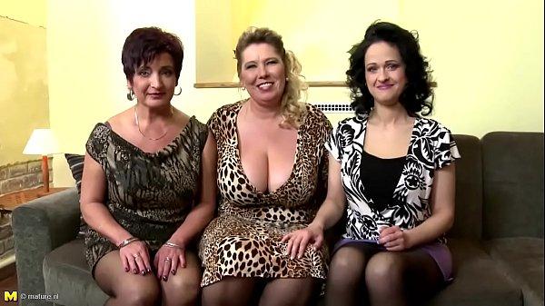 Trio Matures Wild Swanqx.com