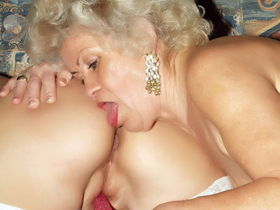 Super-fucking-hot Senior Gals Toying With A Fake Penis