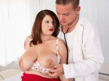 Vicky Soleil's Boob Check-up