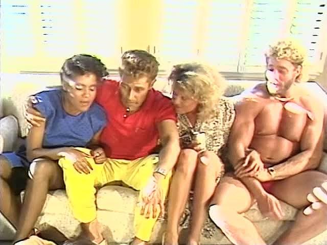 Frankie Leigh, Jeannie Pepper, Kim Alexis In Antique Porno Vid